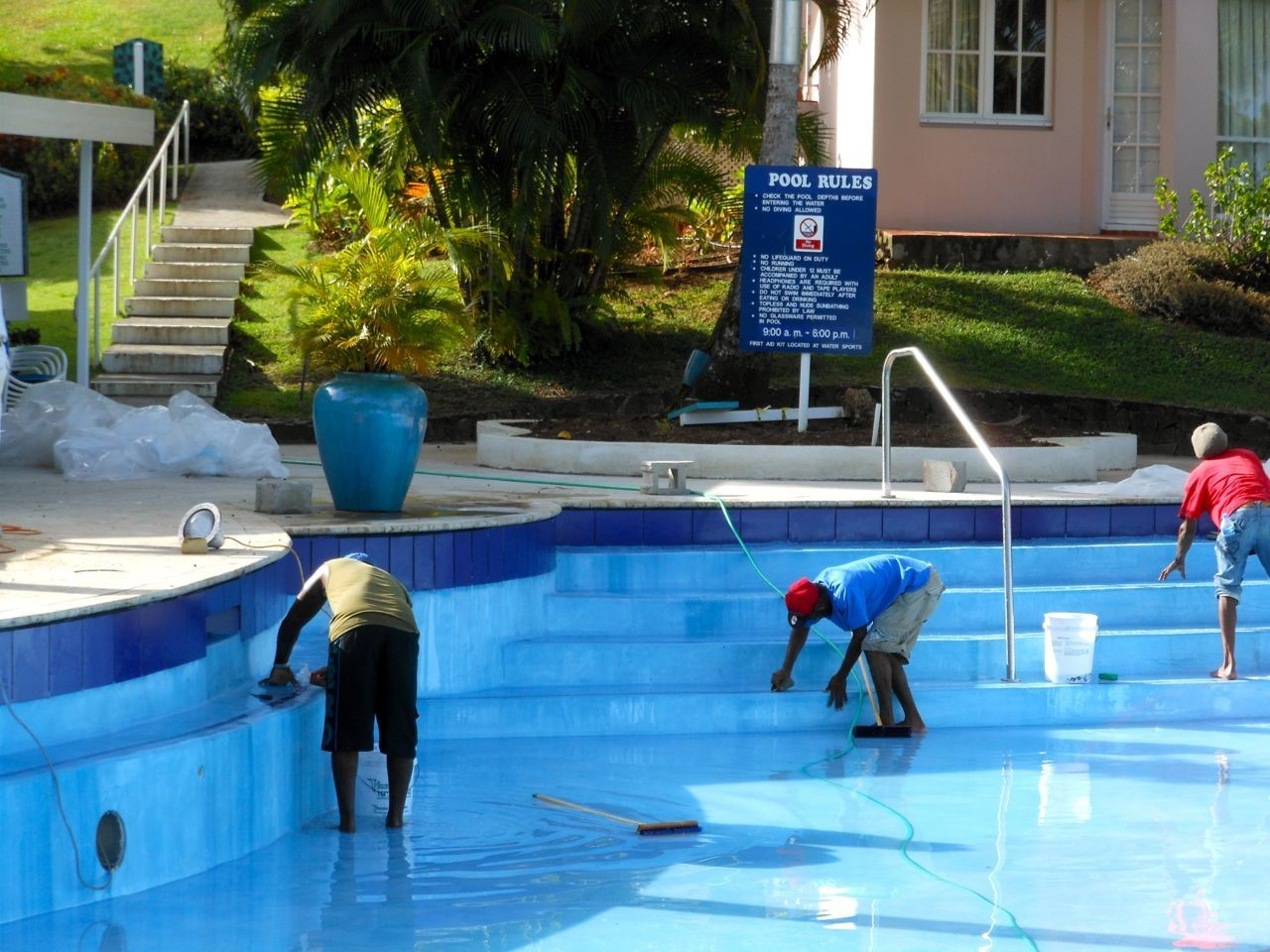 Swimming Pool Repairs Melville